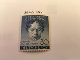 Berlin Van Beethoven Mnh 1952 - [5] Berlin