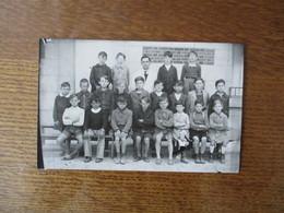 CARTE PHOTO SOISSONS ECOLE SAINT CREPIN GARCONS 2e MARDI 14 MAI 1945 - Soissons