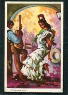 CPA - Illustration Givalt Levin - Peteneras - Künstlerkarten