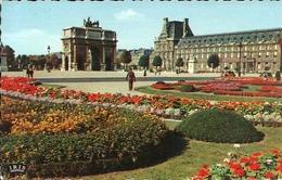 Paris (Parigi, Francia) Les Jardins Du Louvre Et Le Carrousel - Louvre