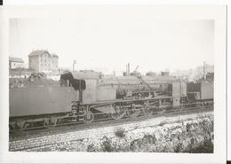 Photo - Thème Chemin De Fer - Locomotive En  Gare De Besançon  En 1955 - 25 - Doubs - Treni