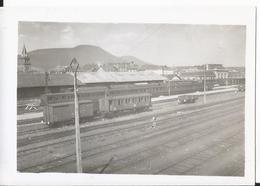 Photo - Thème Chemin De Fer -   Gare De Saint Dié En 1954 - Treni