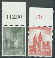 Luxembourg YT N°473/474 Basilique D'Echternach Neuf ** - Ungebraucht