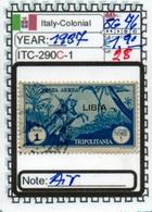 EUROPE#ITALY COLONIAL EMPIRE#CLASSIC#1900>#(ITC-290C-1 (28) - Libyen