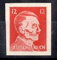"Allemagne/Reich Timbre De Propagande ""Futsches Reich"" Non Dentelé Neuf ** MNH. TB. A Saisir! - Germany"