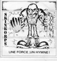 Disque Des Skinkorps - Une Force Un Hymne - APDAR 010 - 1986 - - Punk