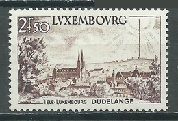 Luxembourg YT N°495 Télé-Luxembourg Dudelange Neuf ** - Luxemburg