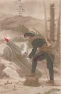 Militaria : Fantaisie : Soldat Chasseur Alpin - Colorisé : Expéd. 11é Bataillon De Chasseur Alpin - 25é Comp. Secteur 39 - War 1914-18