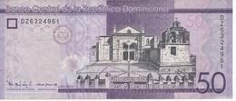 BILLETE DE REP. DOMINICANA DE 50 PESOS ORO DEL AÑO 2016 SERIE DZ  (BANKNOTE) - República Dominicana
