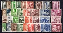 Allemagne/Reich YT N° 582/590, N° 616/624, N° 654/662 Et N° 675/683 Neufs ** MNH. TB. A Saisir! - Germany