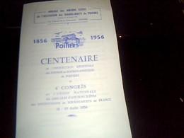Vieux Papier Programme Amicale Des Anciens èleves De L Institution Des Sourds Muets De Poitier 1956 - Programmi