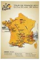 CPM   PUB   TOUR DE FRANCE 2011 - Radsport