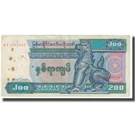 Billet, Myanmar, 200 Kyats, KM:75b, AB - Myanmar