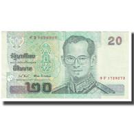 Billet, Thaïlande, 20 Baht, KM:109, NEUF - Thaïlande