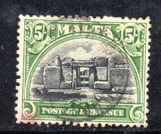 APR845 - MALTA 1926 ,  Unificato N. 132  Usato  (2380A) . - Malta