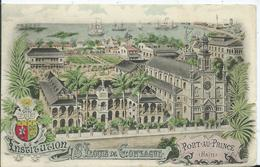 HAÏTI- PORT AU PRINCE - Institution St LOUIS DE GONZAGUE - Haiti