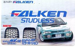 FALKEN - EQUIPEMENTIER PNEUMATIQUE - TELECARTE JAPON  - VOITURE - AUTOMOBILE - CAR - Voitures