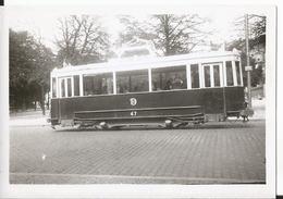 Photo - Thème Chemin De Fer - TED -  Tramway à Dijon En 1952 - 21 - Côte D'or - Trains