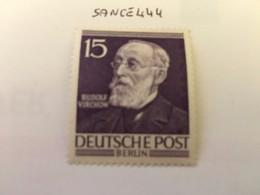 Berlin Famous R. Virchow Physician 1952 Mnh - [5] Berlin
