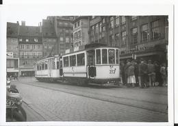 Photo - Thème Chemin De Fer -  Tramway à Strasbourg - - Trains