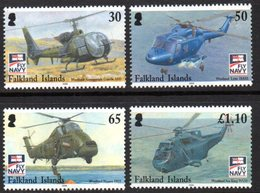 Falkland Islands 2009 Naval Aviation Aeroplanes Set Of 4, MNH, SG 1131/4 - Falkland Islands