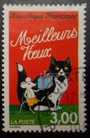 3123 France 1997 Oblitéré  Meilleurs Voeux Du Facteur Souris Et Chat - France