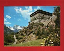 (2) Valle D'Aosta -  Il Castello Di Verres.   Non  Viaggiata.  Vedi Descrizione - Altre Città