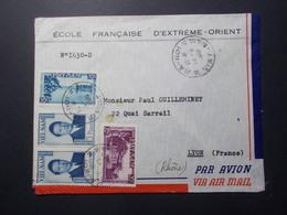 Marcophilie  Cachet Lettre Obliteration - VIET NAM Hanoi Destination Lyon (2416) - Vietnam