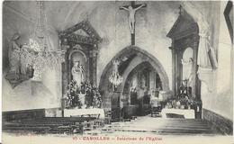 ~ JP  ~  50  ~  CAROLLES     ~   Intérieur De L' église    ~ - Andere Gemeenten