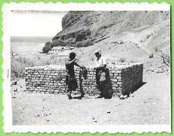 Santa Catarina - REAL PHOTO - Construção Um Muro De Suporte - Santiago - Cabo Verde - Cape Verde