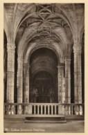 AN12 Lisboa, Jeronimos, Interiores - Postcard No. 90 - Lisboa