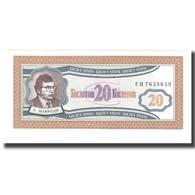 Billet, Russie, 20 Rubles, NEUF - Russie