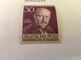 Berlin Famous M. Planck Physicist 1952 Mnh - [5] Berlin