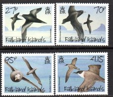Falkland Islands 2010 Petrels & Shearwaters Birds Set Of 4, MNH, SG 1169/72 - Falkland Islands