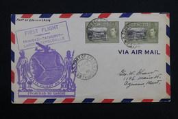 TRINITE &TOBAGO - Enveloppe 1 Er Vol Trinitad / Dathurts / Lagos / Leopolville En 1941 - L 28490 - Trinidad & Tobago (...-1961)