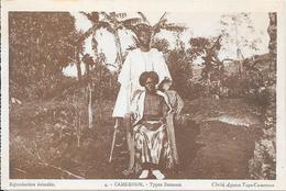 CAMEROUN - Types Bamoun   - (Cliché Agence Togo-Cameroun) - Cameroun