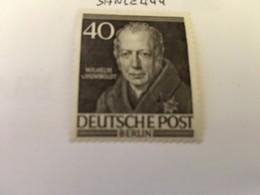 Berlin Famous W. Von Humboldt Philosopher 1952 Mnh - [5] Berlin