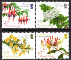 Falkland Islands 2010 Flowering Shrubs Set Of 4, MNH, SG 1181/4 - Falkland Islands