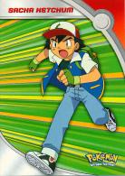 * TRADING CARDS, CARTE, POKEMON : Sacha Hetchum, HV1, Bons Et Méchants (1995-1998) TV Animation Edition - Pokemon