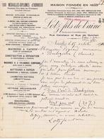 LOIRE-ATLANTIQUE - NANTES - LOTZ Fils - Machines à Vapeur, Batteuses, Pétrins, Moulins, Locomotives, Etc - France