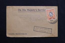 """TANGANYIKA - Enveloppe  Pour Sydney En 1941 , Cachet """" No Open By Censor """" - L 28491 - Kenya, Uganda & Tanganyika"""
