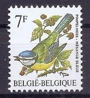 BELGIE * Buzin * Nr 2261 * Postfris Xx * DOF WIT  PAPIER - 1985-.. Birds (Buzin)