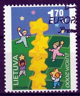 Litouwen Europa Cept 2000 Gestempeld Fine Used - Europa-CEPT