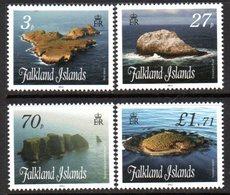 Falkland Islands 2011 Islands, Stacks & Bluffs III Set Of 4, MNH, SG 1189/92 - Falkland Islands