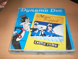 Cartoon Dynamo Doc Mouse Trapped Castle Films 8mm Complete Litho In USA - Other Collections
