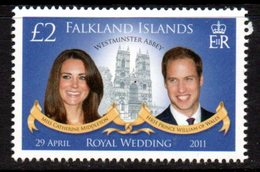 Falkland Islands 2011 Royal Wedding, MNH, SG 1193 - Falkland Islands
