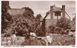 AQ27 Canterbury, The Black Friars - RPPC, Rowing Boat - Canterbury
