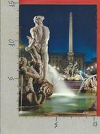 CARTOLINA NV ITALIA - ROMA Di Notte- Piazza Navona - 10 X 15 - Places & Squares