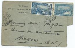 Lettre Guadeloupe - Covers & Documents