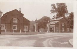 AS41 Claremont, Esher, Entrance - RPPC - Surrey